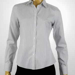 Brooks Brothers - Striped Button Up Shirt - Size 4